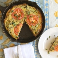 Paleo Summer Vegetable Frittata Recipe
