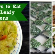 20+ Ways to Eat Your Leafy Greens!