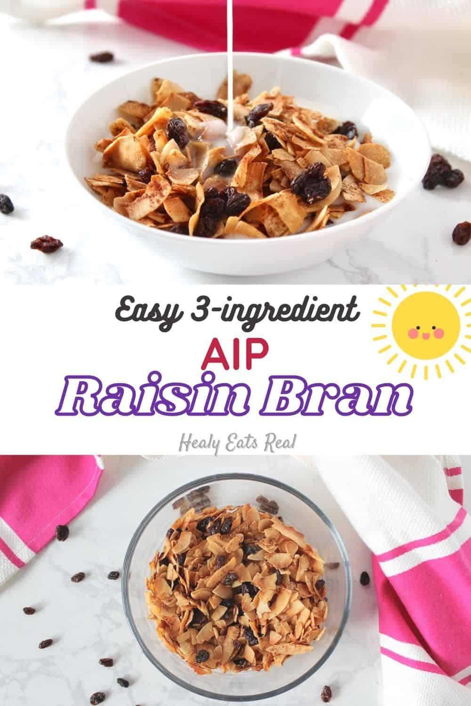 "Easy AIP ""Raisin Bran"" Breakfast Cereal Recipe"