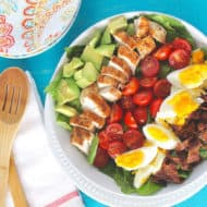 Colorful Cobb Salad Recipe (Paleo & Dairy Free)