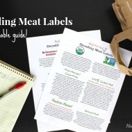 Decoding Meat Labels: Which is the healthiest? (With Printable Guide!)