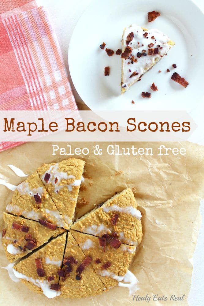 Maple Bacon Scones- Paleo & Gluten Free