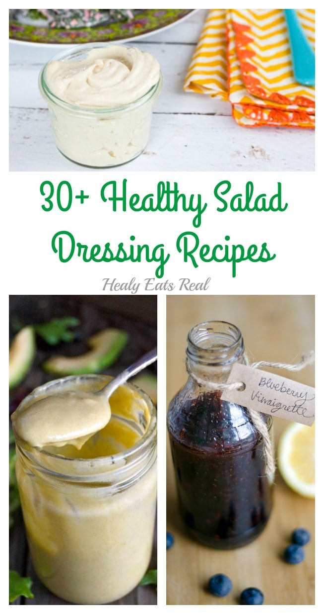 30 Healthy Salad Dressing Recipes
