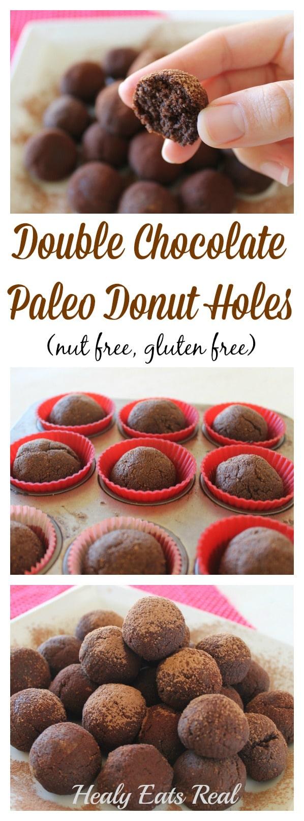 Chocolate Paleo Donut Holes
