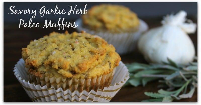 Savory-Garlic-Herb-Paleo-Muffins