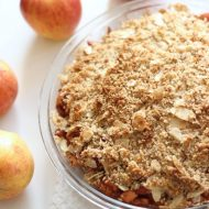Delicious Paleo Apple Crisp (Vegan & Gluten Free)