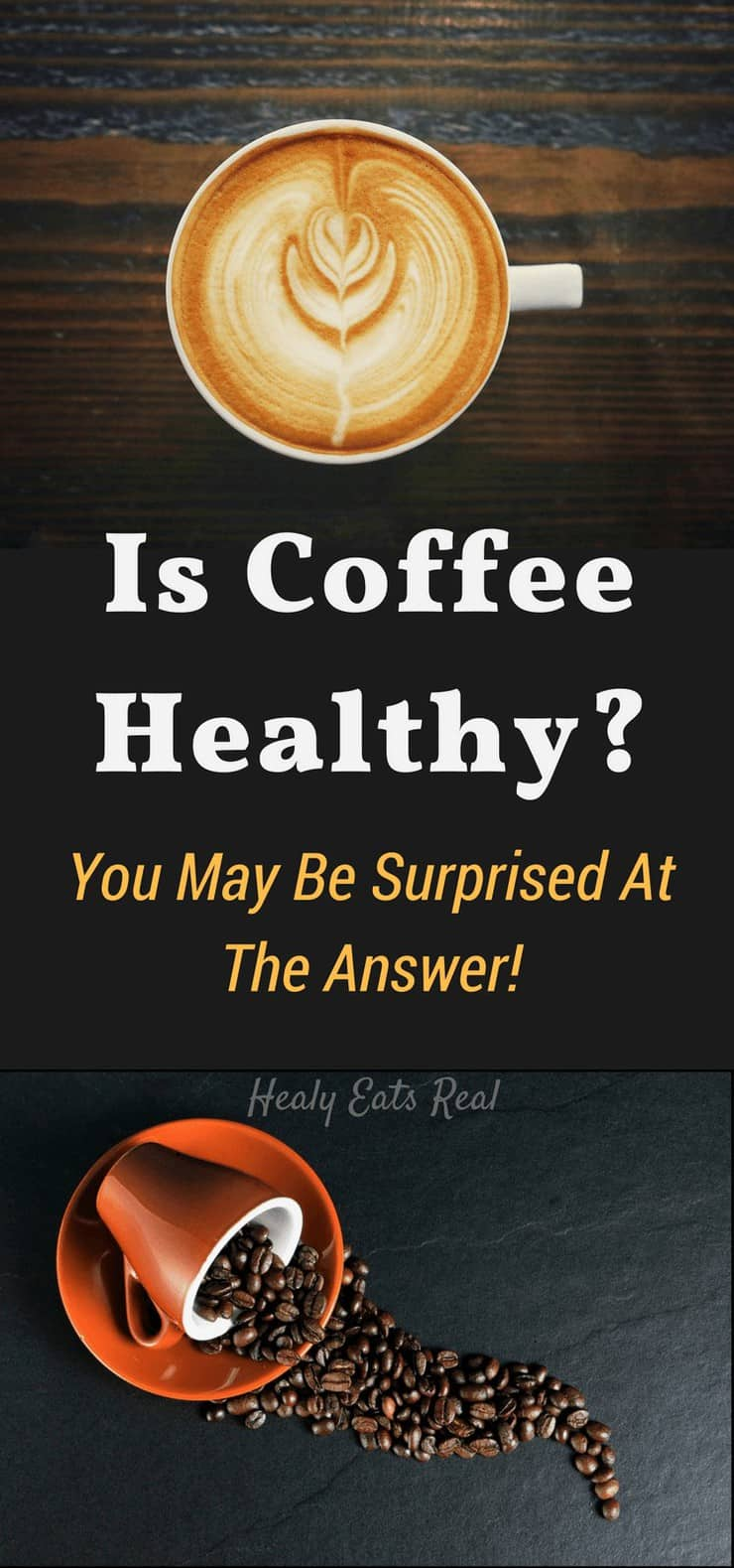 Is coffee healthy? Well, unfortunately the answer isn't as simple as a yes or no. Research seems to show that there is plenty of evidence to support that coffee is good for you and that coffee is bad for you, so it can be confusing.