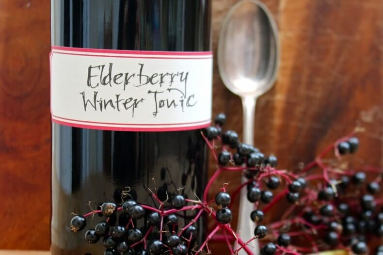 Elderberry Winter Tonic