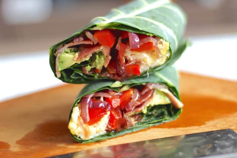 healthy breakfast burrito paleo gluten free healy eats real