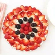 No Bake Fruit Tart Recipe (Sugar-Free, Vegan & Paleo)