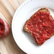 Quick Chia Seed Strawberry Jam Recipe (Paleo & Vegan)