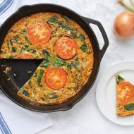 Tomato & Herb Vegetable Frittata Recipe (Paleo & Dairy-Free)