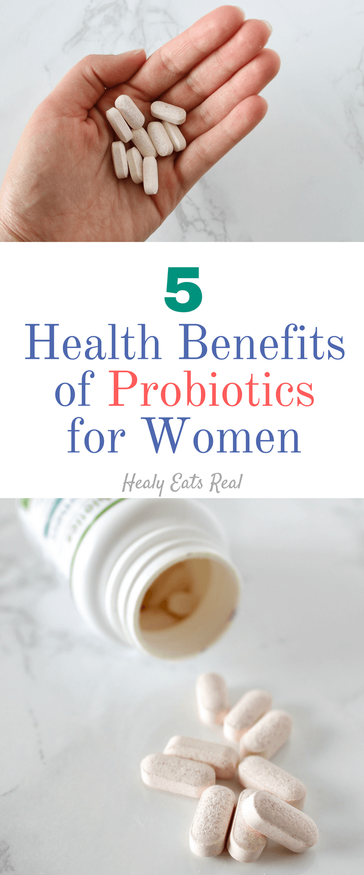 5 Health Benefits of Probiotics for Women