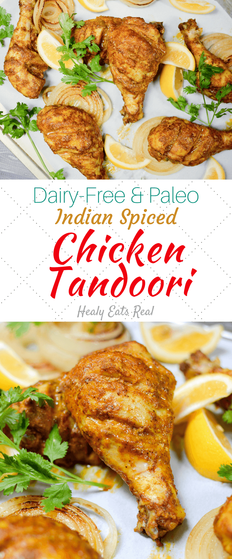 Chicken Tandoori Recipe (Dairy Free & Paleo)