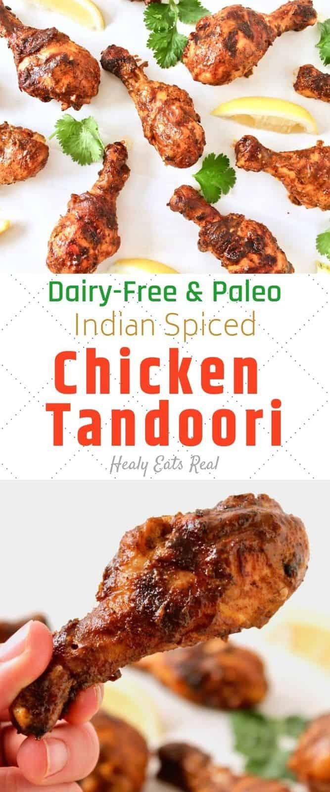 Juicy Chicken Tandoori Recipe (Dairy-Free, Paleo & Keto)