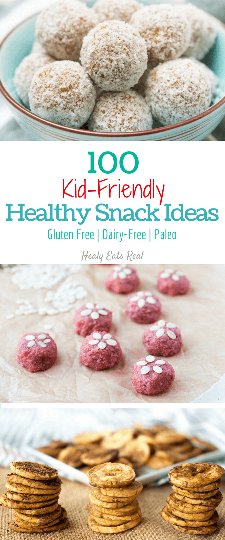Kid Friendly Healthy Snack Ideas (Gluten Free & Paleo)