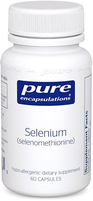 Selenium for thyroid supplements