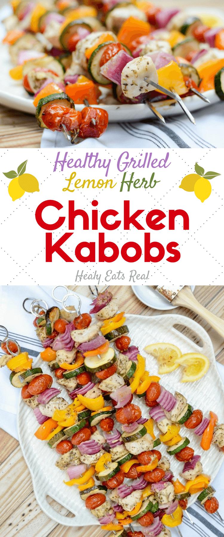 Lemon Herb Chicken Kabob Recipe