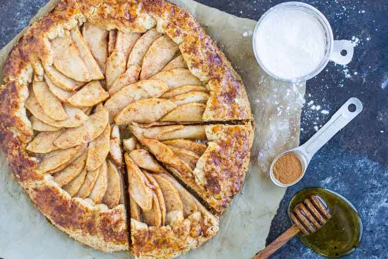 Healthy apple recipes- Apple Galette (1)
