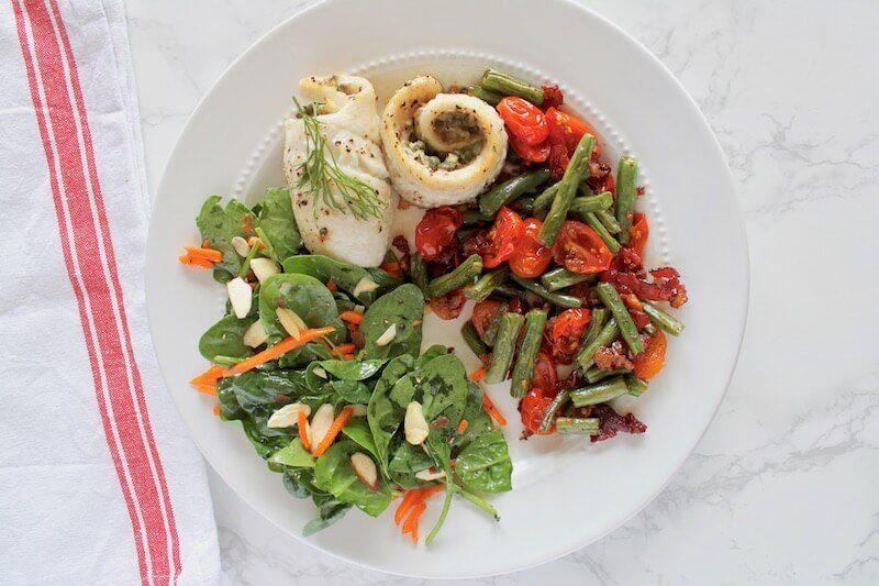 Dill Caper Sole Recipe from Green Chef
