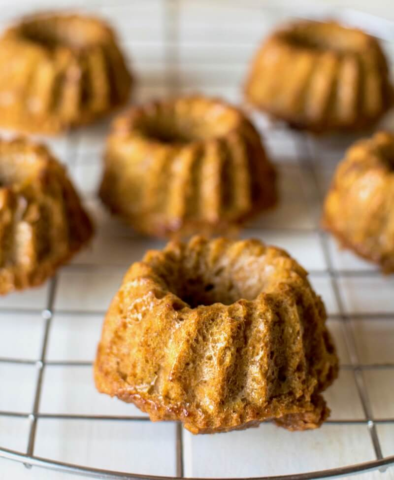 Mini Paleo Carrot Cake Recipe 3