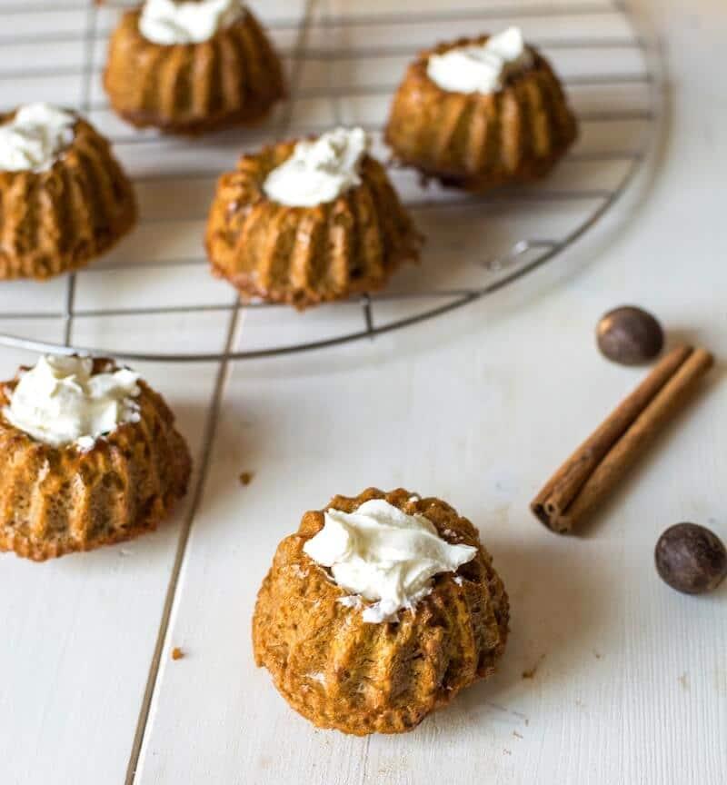 Mini Paleo Carrot Cake Recipe 6