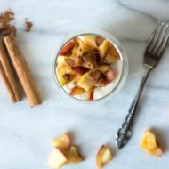 Caramelized Apple Cashew Mousse Recipe (Paleo & Vegan)