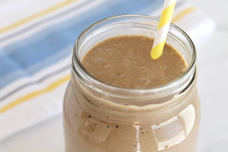 Chocolate Banana Healthy Smoothie Recipe 2