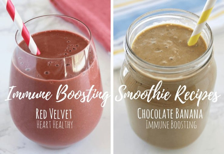 Immune Boosting Healthy Smoothies (Paleo & Vegan)