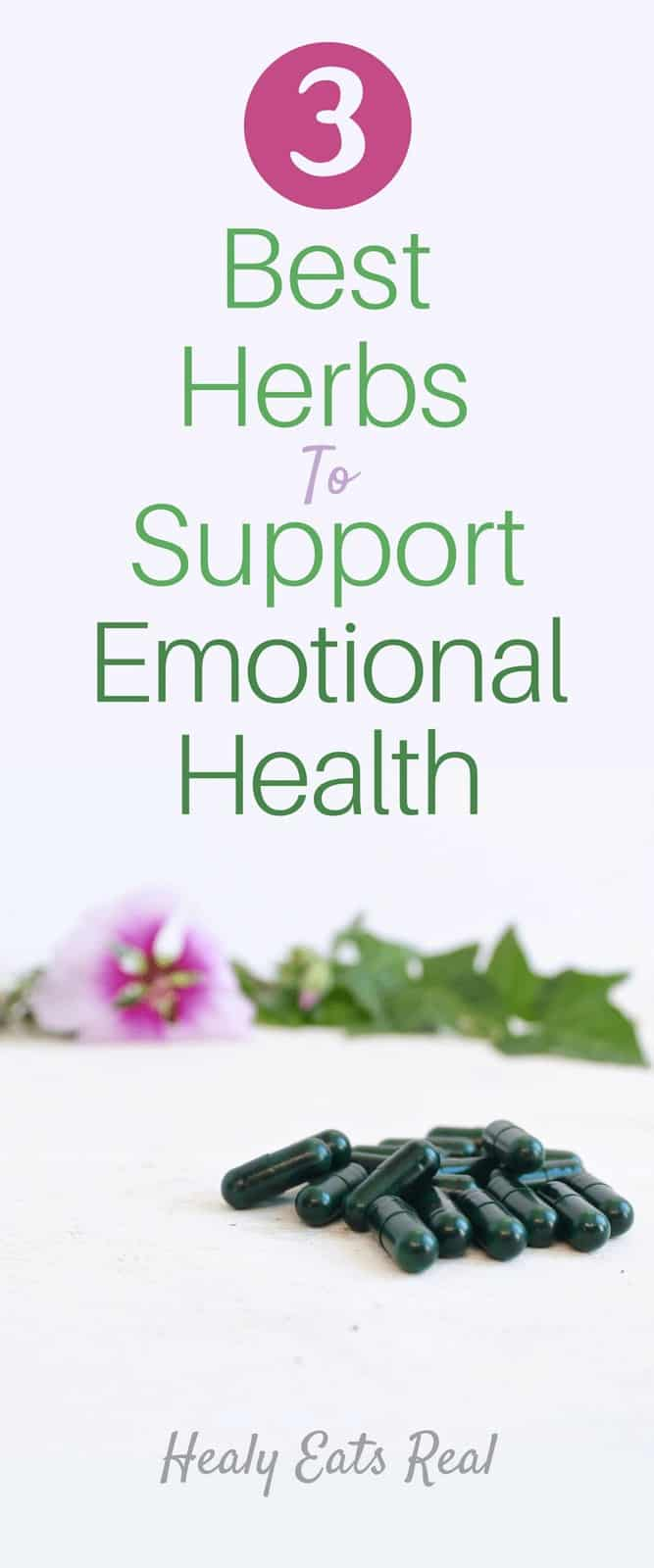 3 Best Herbs to Support Emotional Health