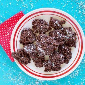 Easy Coconut Haystacks Cookie Recipe