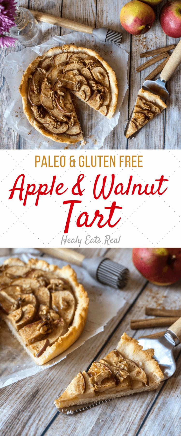 Rustic Apple Tart (Paleo & Gluten Free)