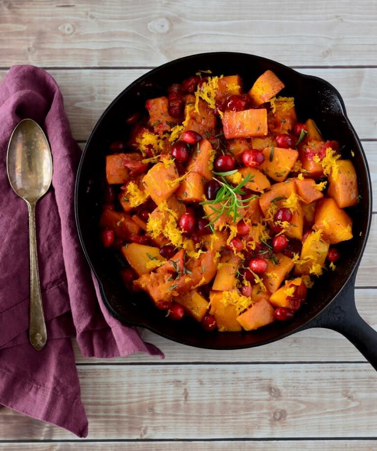 cranberry balsamic butternut squash recipe