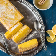 Delicious Paleo Lemon Bars (Gluten Free)