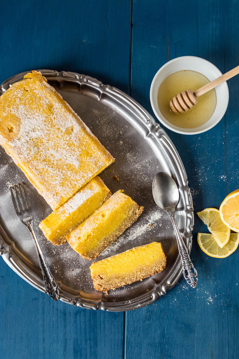 Delicious Paleo Lemon Bars healthy
