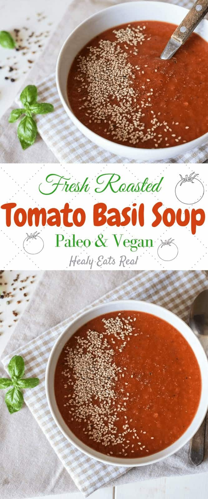 Fresh Tomato Soup Recipe (Paleo & Vegan) (1)