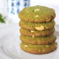 Healthy Matcha Green Tea Cookies (Keto & Sugar Free)