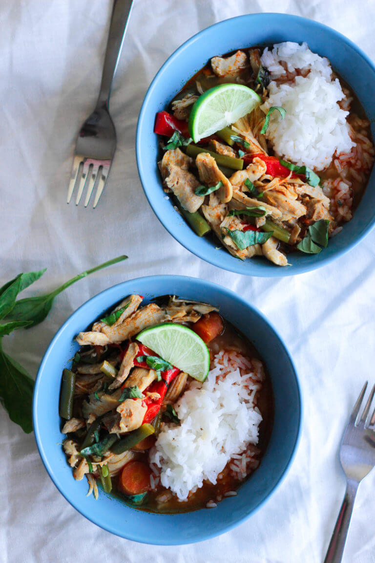 paleo coconut chicken curry recipe