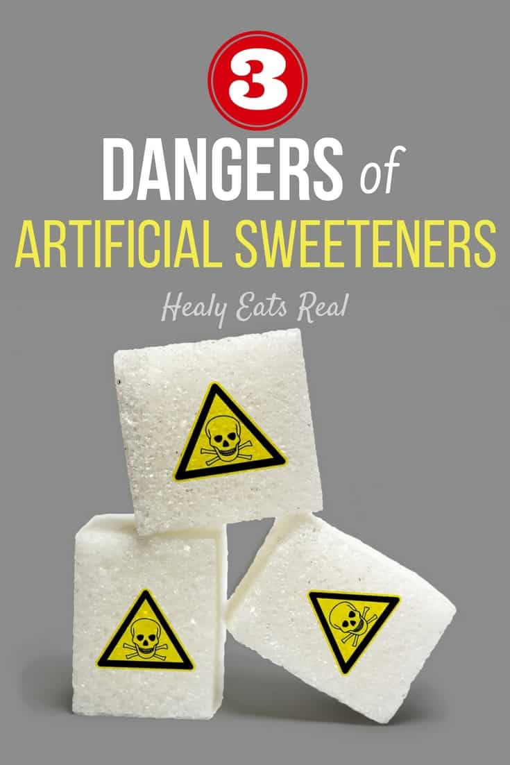3 Dangers of Artificial Sweeteners- Although artificial sweeteners are technically sugar free, are they actually any better for you than regular sugar? These sugar free substitutes are usually created in a lab and often do more harm than good. Artificial sweeteners can even contribute to the very problem they are trying to combat...