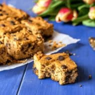 Chocolate Chip Blondie Recipe (Paleo, Gluten Free, Keto)