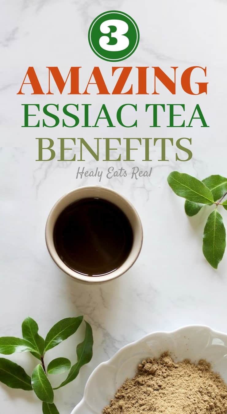 3 Amazing Essiac Tea Benefits to Improve Your Health!- There are a number of amazing essiac tea benefits from promoting detoxing to immune support and more. If you are looking to improve your health, you'll definitely want to add essiac tea to your daily regimen.#essiactea #health #immune