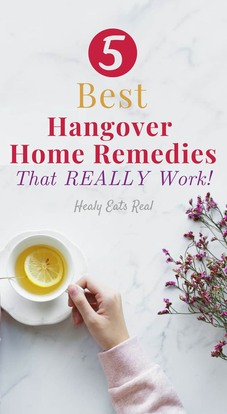 5 Best Hangover Home Remedies that REALLY Work!