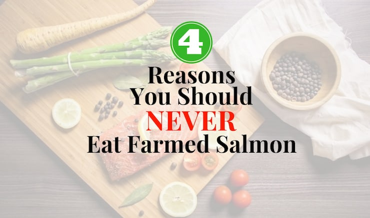 4 Reasons You Should NEVER Eat Farmed Salmon