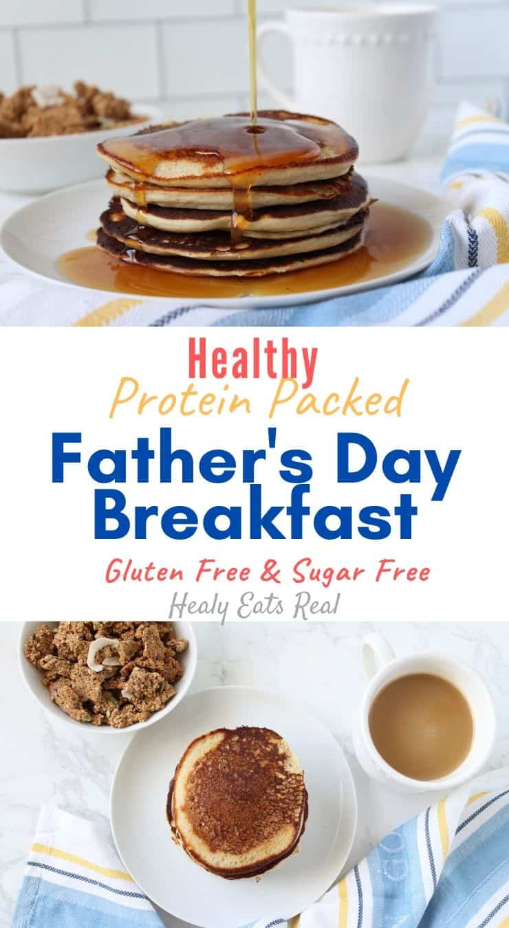 Healthy Protein Packed Father\'s Day Breakfast (Gluten-Free & Sugar-Free)