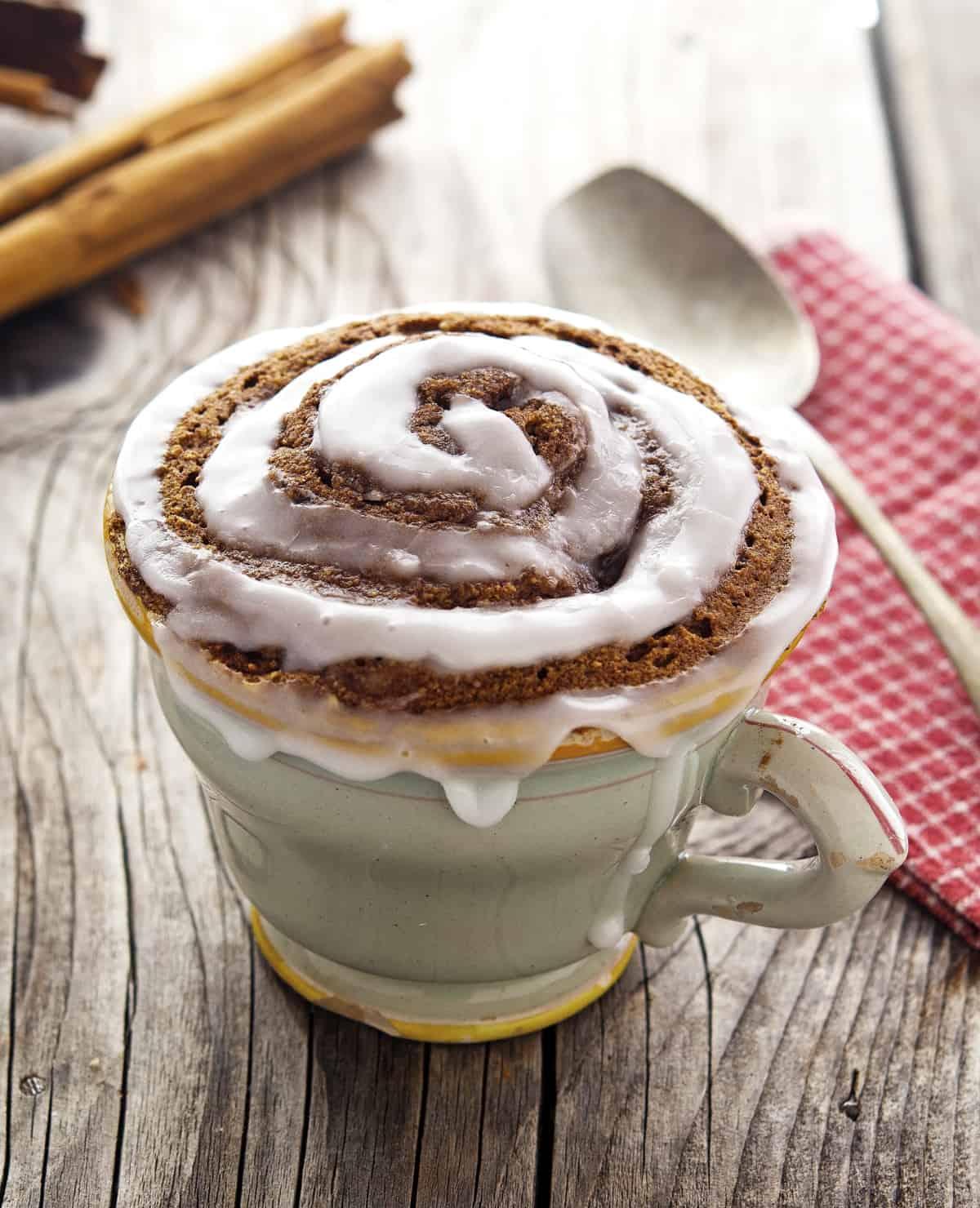 25 Paleo Mug Cake Recipes (Gluten Free & Dairy Free)